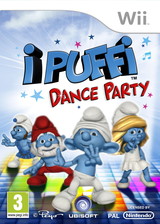 I Puffi: Dance Party Wii cover (SDUP41)