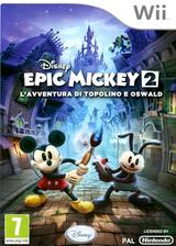Disney Epic Mickey 2: L'avventura di Topolino e Oswald Wii cover (SERF4Q)
