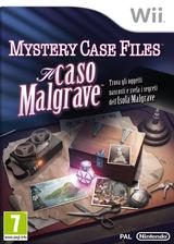 Mystery Case Files:Il Caso Malgrave Wii cover (SFIP01)