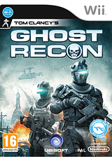 Tom Clancy's Ghost Recon Wii cover (SGHP41)