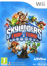 Skylanders: Trap Team Wii cover (SK8I52)