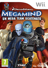Megamind:Un Mega Team Scatenato Wii cover (SMGP78)