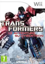 Transformers: Le Avventure su Cybertron Wii cover (ST5P52)