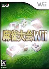 麻雀大会Wii Wii cover (RMJJC8)