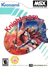 Knightmare: Majou Densetsu VC-MSX cover (XAMJ)