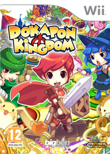 Dokapon Kingdom Wii cover (R2DPJW)