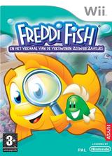 Freddi Fish en het verhaal van de verdwenen zeewierzaadjes Wii cover (R2FP70)