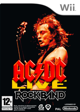 AC/DC Live: Rock Band Track Pack Wii cover (R33P69)