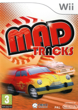 Mad Tracks Wii cover (R4IPNK)