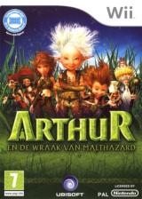 Arthur en De Wraak Van Malthazard Wii cover (R8RP41)
