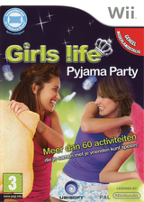 Girls Life: Pyjama Party Wii cover (R9LP41)