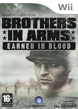 Brothers In Arms: Earned In Blood Wii cover (RB5P41)