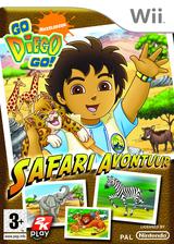 Go, Diego, Go!: Safari Avontuur Wii cover (REQP54)