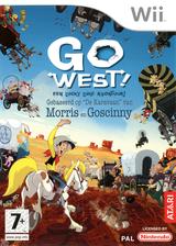 Go West!: Een Lucky Luke Avontuur! Wii cover (RLLP70)