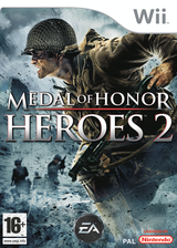 Medal of Honor: Heroes 2 Wii cover (RM2X69)