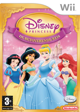 Disney Princess: De Betoverende Reis Wii cover (RPSP4Q)