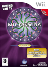 Weekend Miljonairs 2e Editie Wii cover (RW5P41)