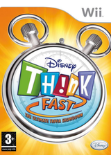 Disney Th!nk Fast: The Ultimate Trivia Showdown Wii cover (RXDP4Q)