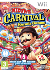 New Carnival Funfair Games Wii cover (S2CP54)
