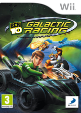 Ben 10: Galactic Racing Wii cover (SA6PAF)