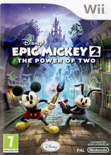 Disney Epic Mickey 2: The Power of 2 Wii cover (SERP4Q)