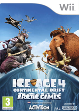Ice Age 4: Continental Drift Wii cover (SIAP52)
