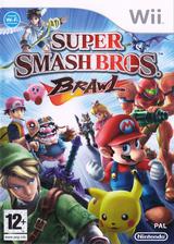 Super Smash Bros. Brawl Wii cover (RSBP01)