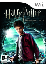 Harry Potter och Halvblodsprinsen Wii cover (RH6P69)