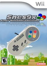 SNES9xGX Homebrew cover (9XGX)