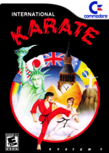 International Karate VC-C64 cover (C9YE)