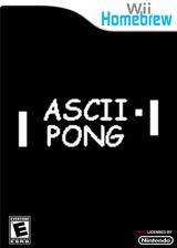 ASCII Pong Homebrew cover (D11A)