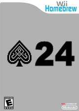 24 Points Homebrew cover (D24A)