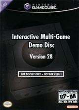 Interactive Multi-Game Demo Disc - Version 28 GameCube cover (D65E01)