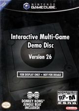 Interactive Multi-Game Demo Disc - Version 26 GameCube cover (D67E01)