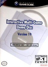 Interactive Multi-Game Demo Disc - Version 19 GameCube cover (D76E01)