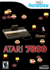 Wii7800 Homebrew cover (D78A)