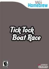 Tick Tock Boat Race Homebrew cover (D87A)