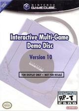 Interactive Multi-Game Demo Disc - Version 10 GameCube cover (D88E01)