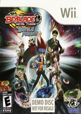 Beyblade: Metal Fusion - Battle Fortress (Demo) Wii cover (DBBE18)