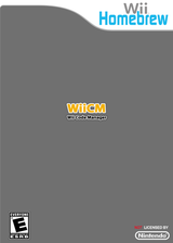 Wiicm Homebrew cover (DCMA)