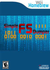 Simple fs dumper Homebrew cover (DFFA)
