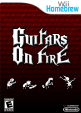 Guitars On Fire Homebrew cover (DGFA)