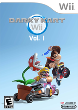 Darky Kart Wii Vol. 1 CUSTOM cover (DKWE01)