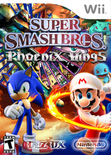 Super Smash Bros. Brawl: Phoenix Wings CUSTOM cover (DLZEPW)