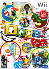 Oops! Prank Party (Demo) Wii cover (DPIE18)