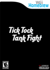 Tick Tock Tank Fight Homebrew cover (DTKA)
