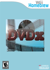 DVDX Homebrew cover (DXDA)
