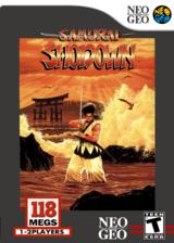 Samurai Shodown VC-NEOGEO cover (EAEE)