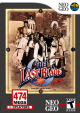 The Last Blade VC-NEOGEO cover (EB5E)