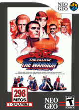 The Path of the Warrior: Art of Fighting 3 VC-NEOGEO cover (EBSE)